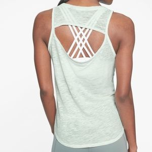 Athleta Organic Open Cowl Back Tank (Like New!)